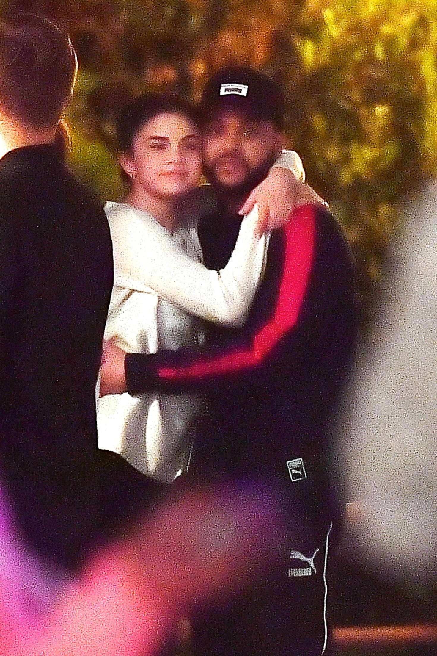 Selena Gomez 2017 : Selena Gomez and The Weeknd at Disneyland -06