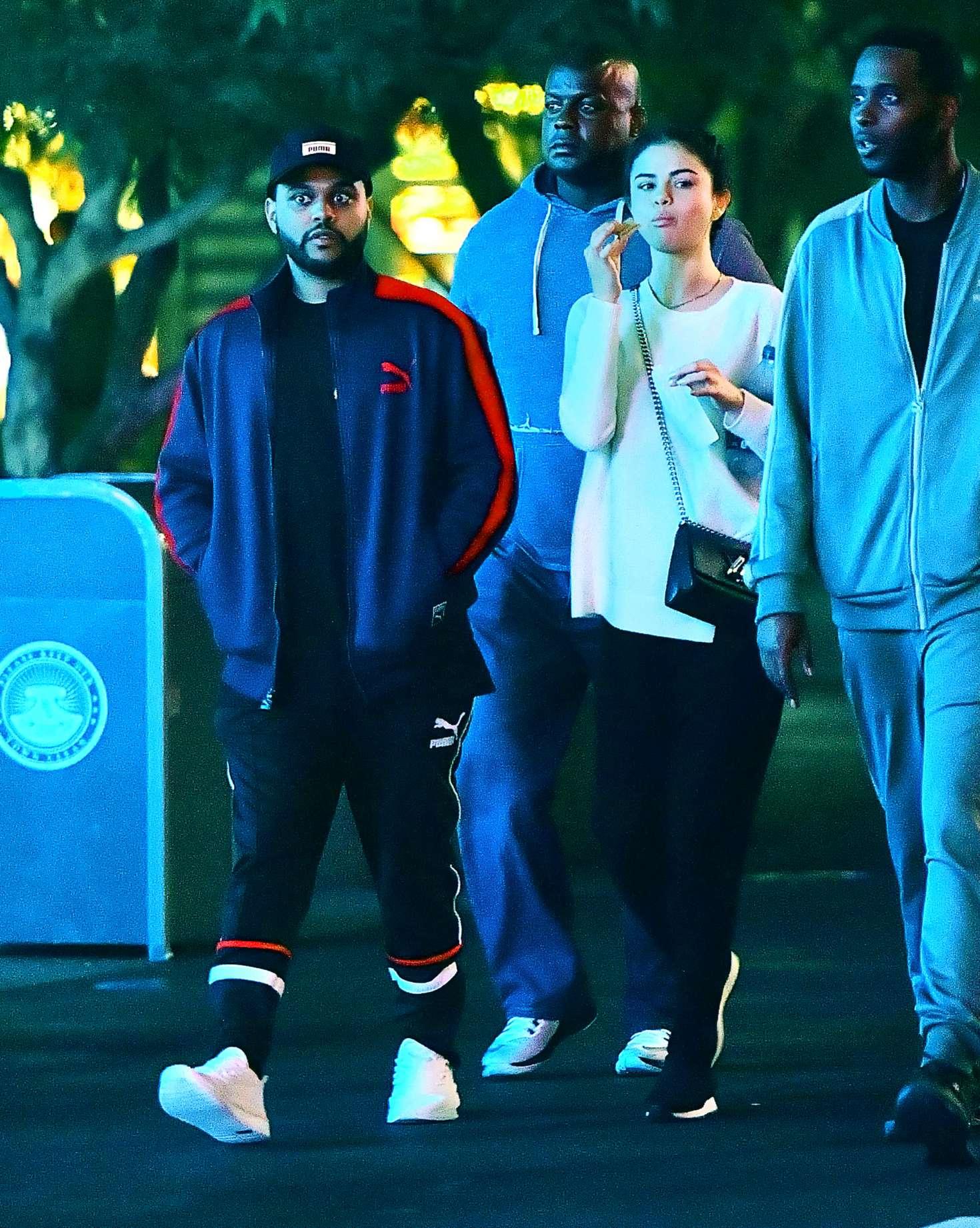 Selena Gomez 2017 : Selena Gomez and The Weeknd at Disneyland -33