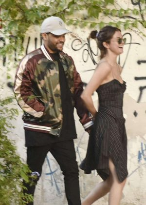 Selena Gomez and The Weeknd Out in Buenos Aires