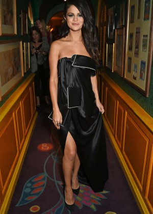 Selena Gomez - Annabel's for dinner and exclusive perfomance in London