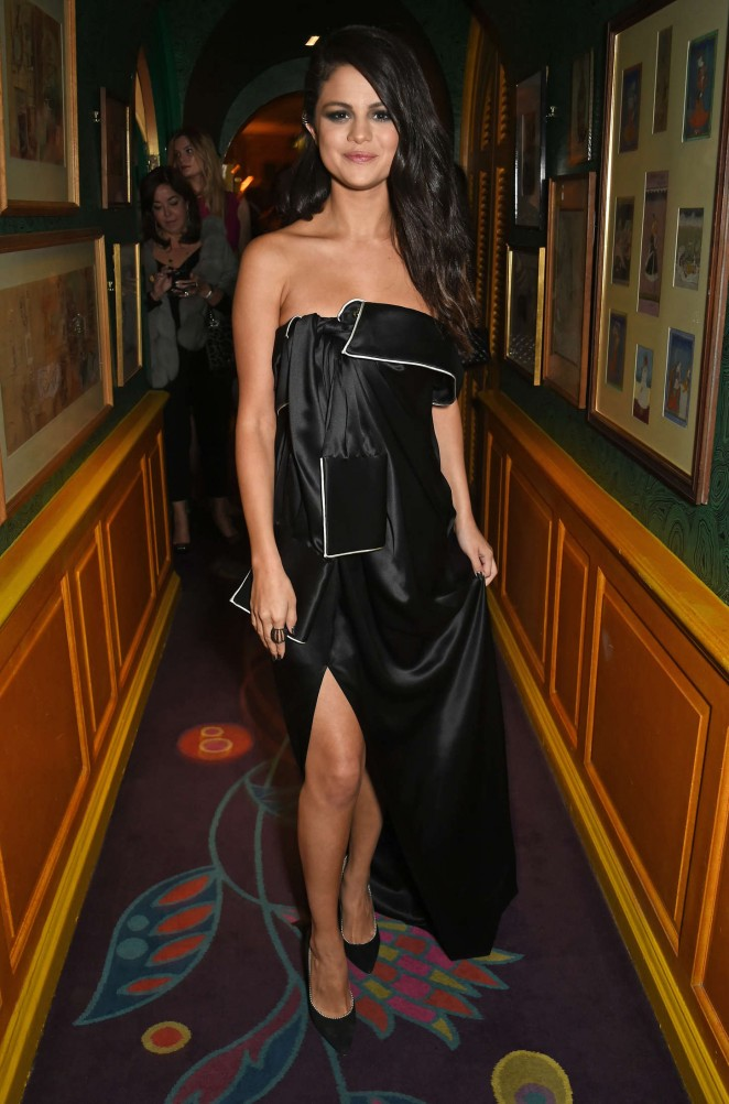Selena Gomez – Annabel's for dinner and exclusive perfomance in London