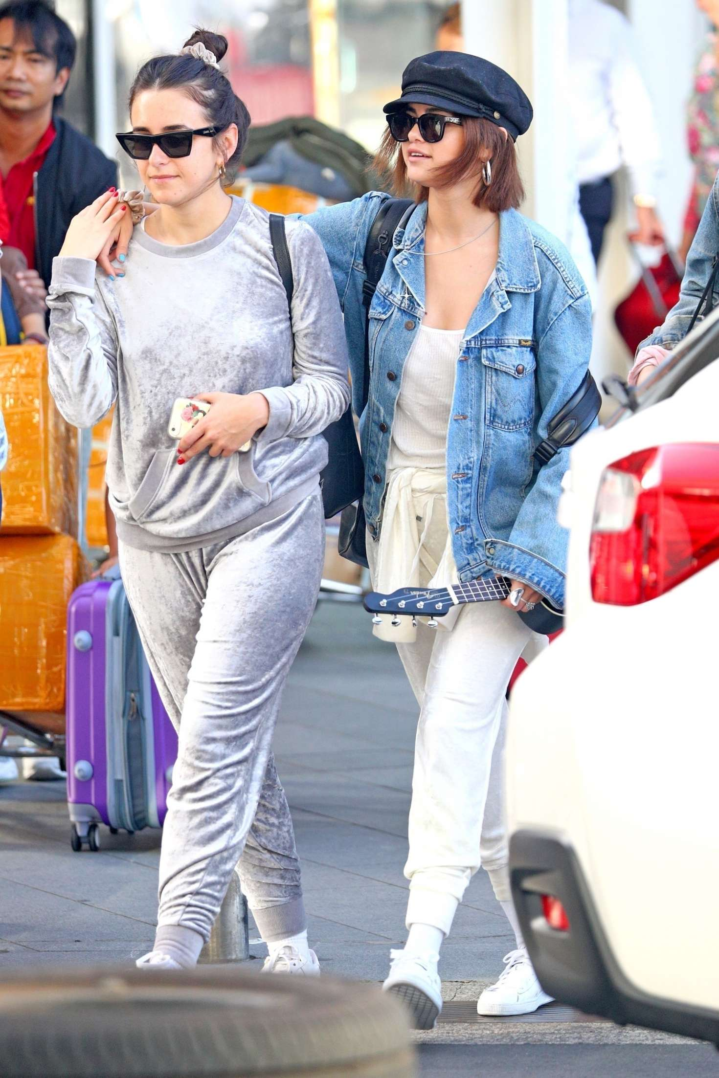 Selena Gomez 2018 : Selena Gomez: Arrives at Airport in Sydney -18