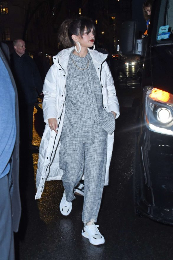 Selena Gomez - Arrives at her 'Rare' album release party at the Puma Flagship store in New York