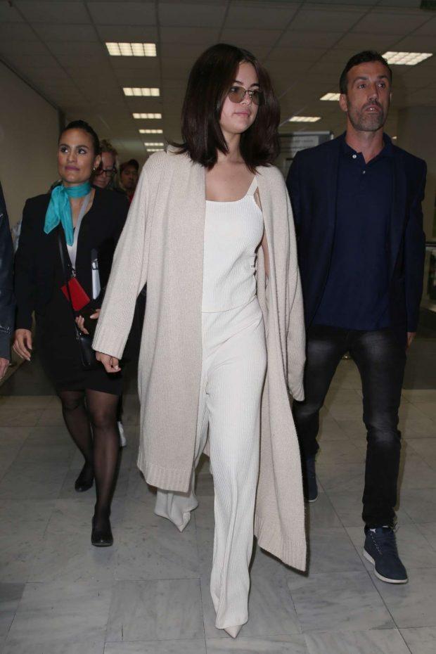 Selena Gomez: Arrives at Nice Airport -07