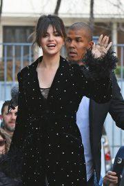 Selena Gomez - Arrives at NRJ radio station in Paris