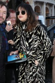 Selena Gomez - Arriving at Capital Breakfast Radio Studios in London