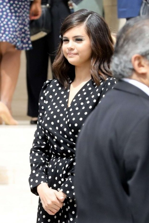 Selena Gomez - Arriving at Hollywood Female Empowerment in LA