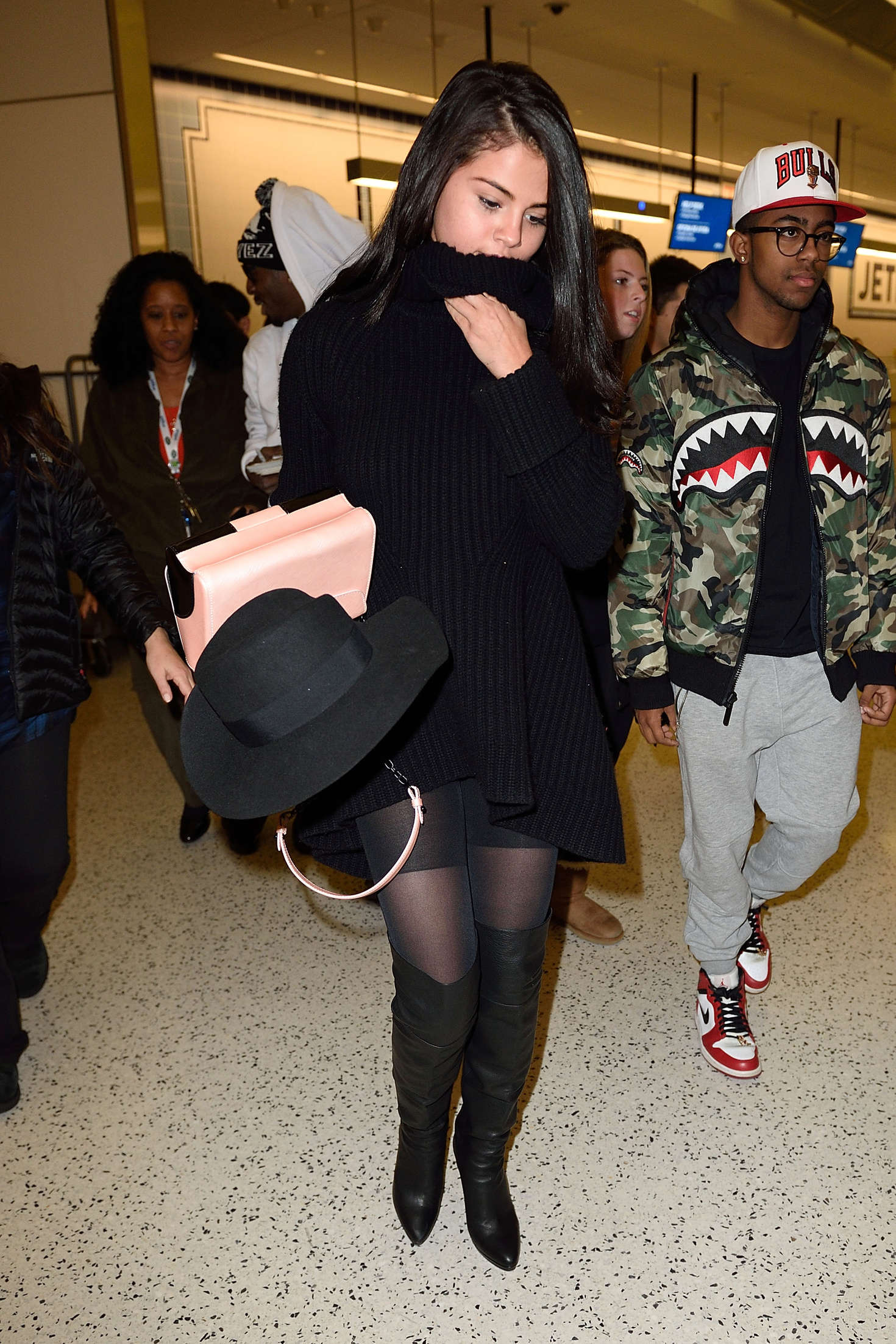 Selena Gomez 2016 : Selena Gomez: Arriving at JFK Airport -07
