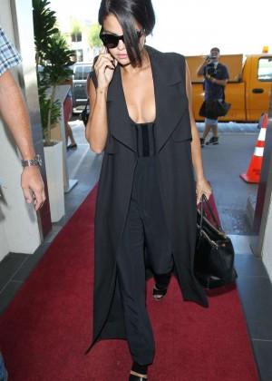 Selena Gomez: Arriving at LAX Airport -01