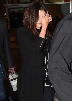 Selena Gomez - Arriving at the airport in Bogota