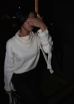 Selena Gomez - Arriving to an event in LA