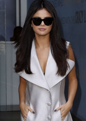 Selena Gomez at Capital Radio Studios in London