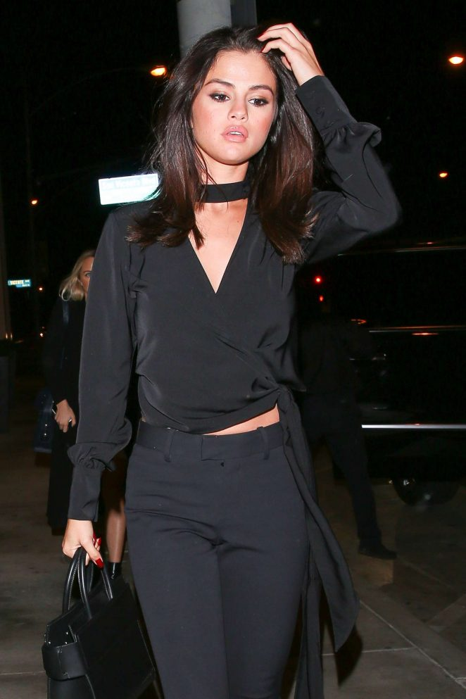 Selena Gomez at Catch LA in West Hollywood