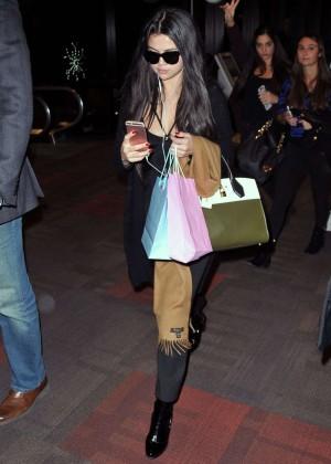 Selena Gomez at International Airport in Philadelphia
