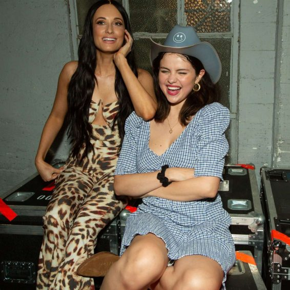 Selena Gomez - At Kacey Musgraves In Concert at The Greek Theatre in LA