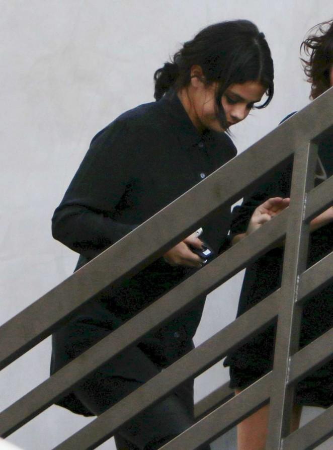 Selena Gomez at Nine Zero One Salon in West Hollywood