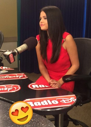 Selena Gomez at Radio Disney in Burbank