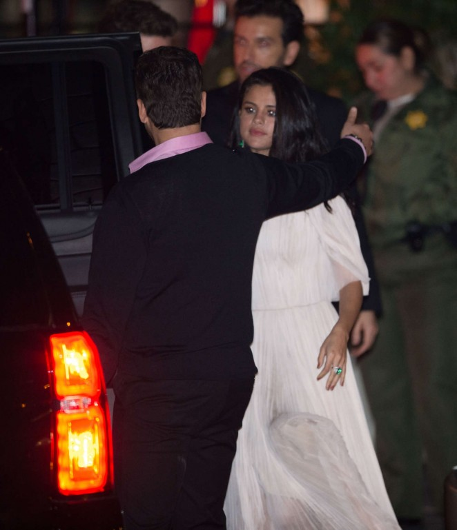 Selena Gomez at Sunset Tower Hotel in West Hollywood
