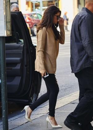Selena Gomez at Zuma Restaurant -03
