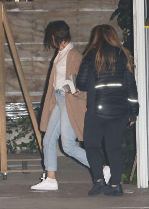 Selena Gomez - Attends a church in Los Angeles