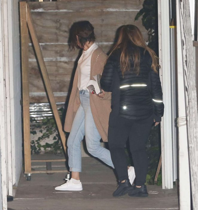 Selena Gomez – Attends a church in Los Angeles