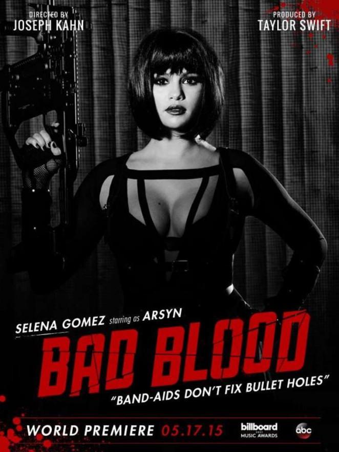 Selena Gomez - 'Bad Blood' Poster