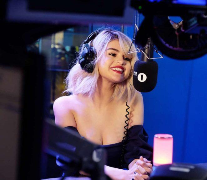 Selena Gomez - BBC Radio 1 Breakfast Show with Nick Grimshaw