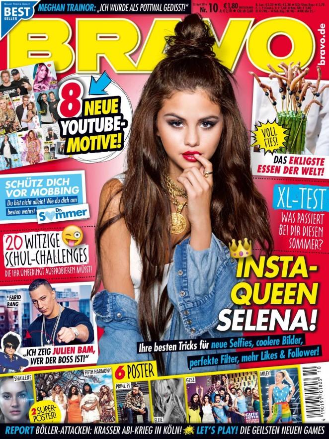 Selena Gomez: Bravo Magazine 2016 -02