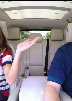 Selena Gomez - Carpool karaoke on 'The Late Late Show with James Corden' Stills