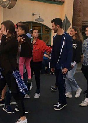 Selena Gomez - Celebrating 4th July in Disneyland