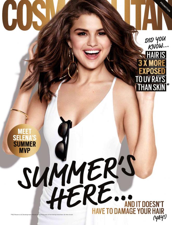 Selena Gomez – Cosmopolitan Australia (February 2018) – Pantene Ads