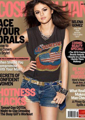 Selena Gomez - Cosmopolitan Philippines (August 2016)