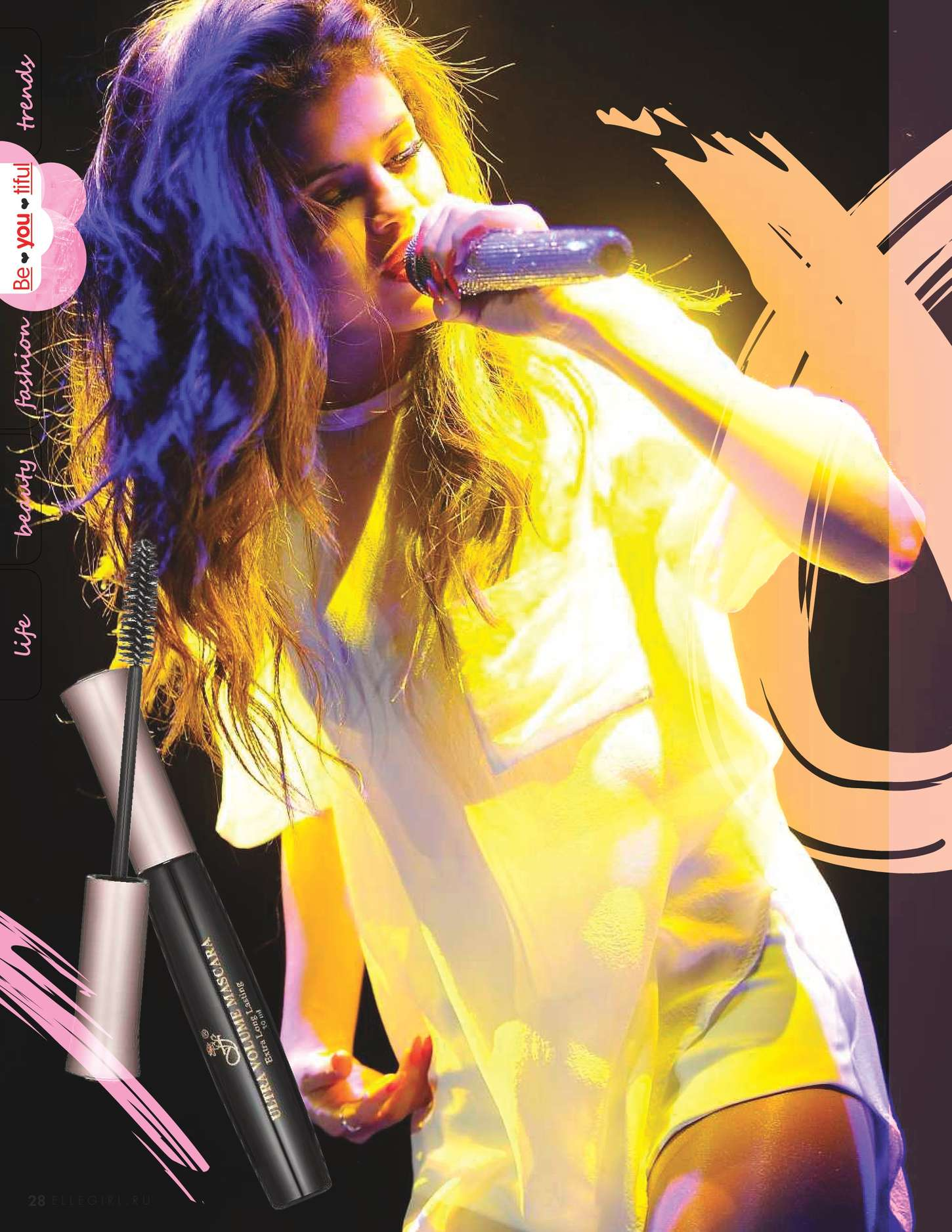 Selena Gomez 2015 : Selena Gomez: Elle Girl Russia 2015 -04