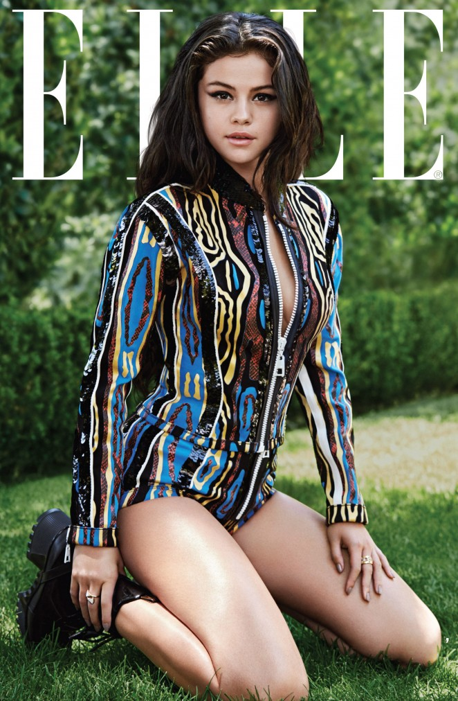 Selena Gomez - Elle US Magazine (October 2015)