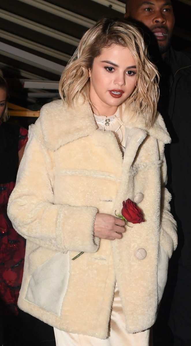 Selena Gomez – Heading to the afterparty at The Chiltern Firehouse in London