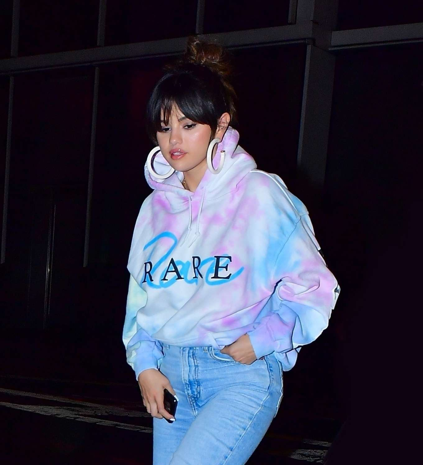 Selena Gomez 2020 : Selena Gomez – Heads to Bang Bang tattoo parlor in New York City-05