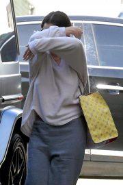 Selena Gomez - Heads to Nine Zero hair salon in West Hollywood