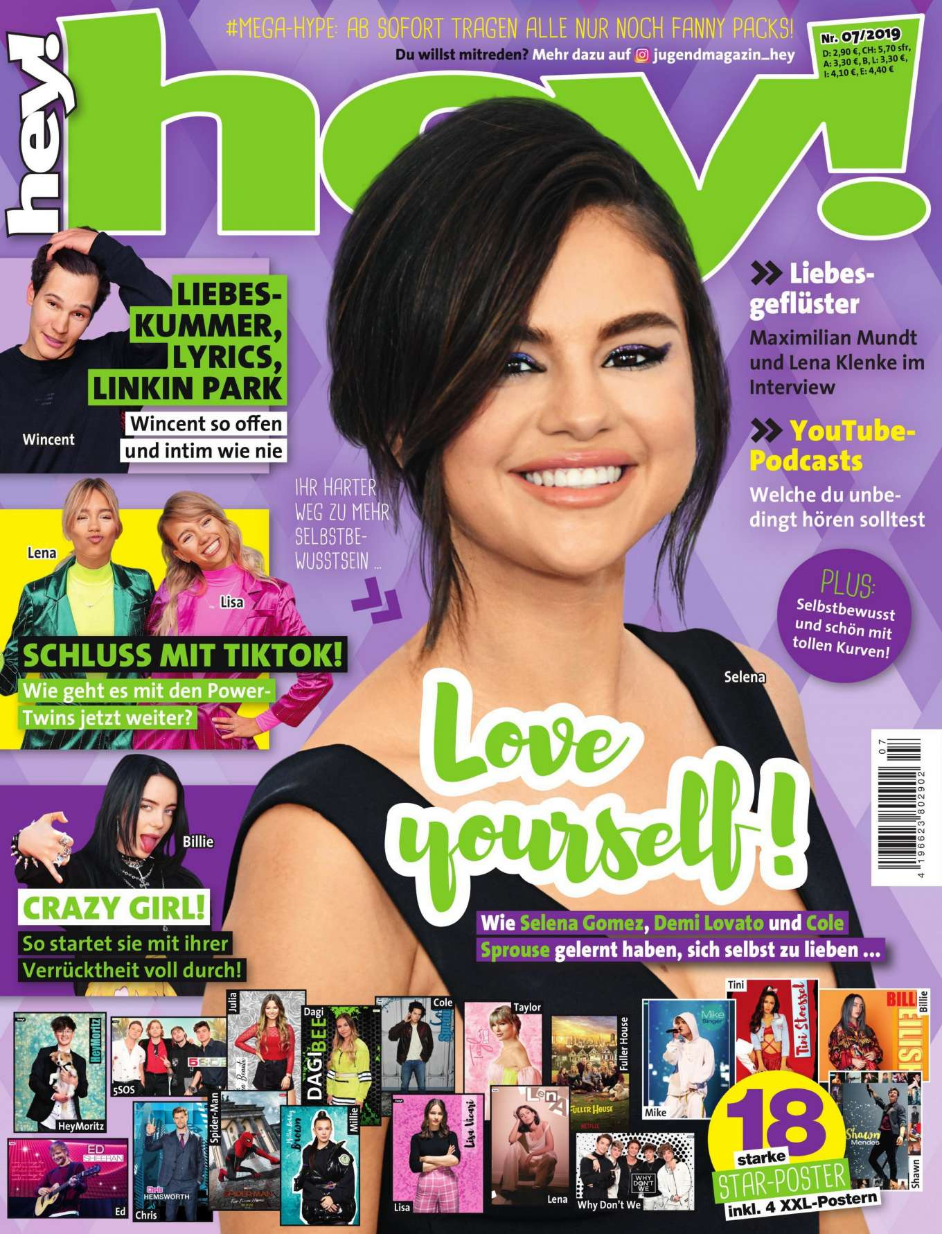 Selena Gomez - hey! Magazine (July 2019)