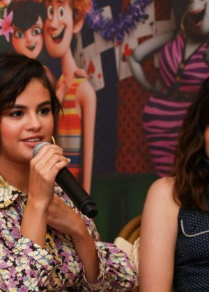 Selena Gomez - 'Hotel Transylvania 3: Summer Vacation' Press Junket in West Hollywood