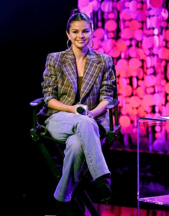 Selena Gomez - iHeartRadio Album Release Party with Selena Gomez in Burbank