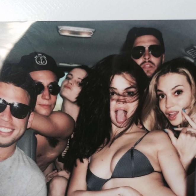 Selena Gomez in Bikini Top - Instagram