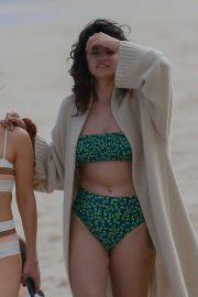 Selena Gomez in Bikini on the beach in Honolulu
