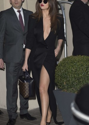 Selena Gomez in Black Dress -06