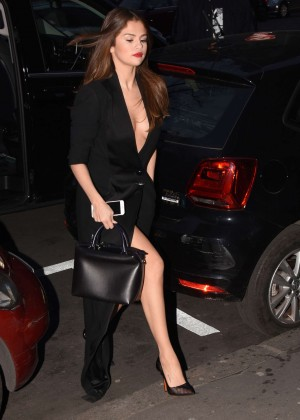 Selena Gomez in Black Dress -08