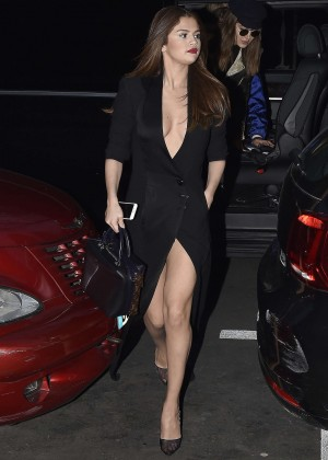 Selena Gomez in Black Dress -13