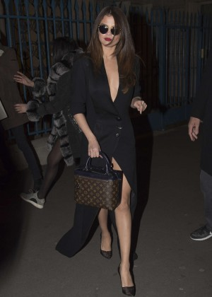 Selena Gomez in Black Dress -20