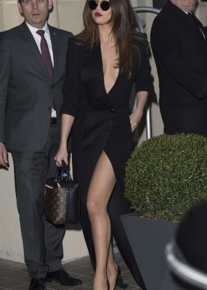 Selena Gomez in Black Dress -23
