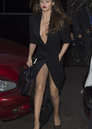 Selena Gomez in Black Dress -24