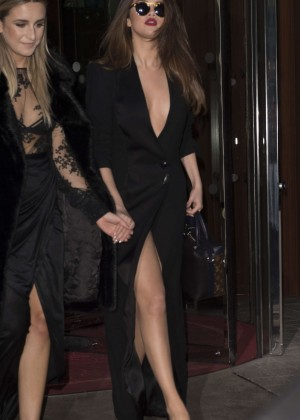 Selena Gomez in Black Dress -27
