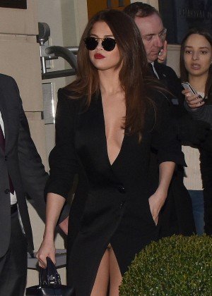 Selena Gomez in Black Dress -28
